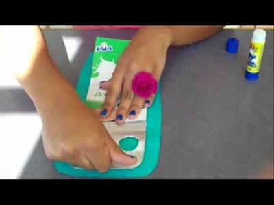 Cómo hacer un monedero con Tetra Pak