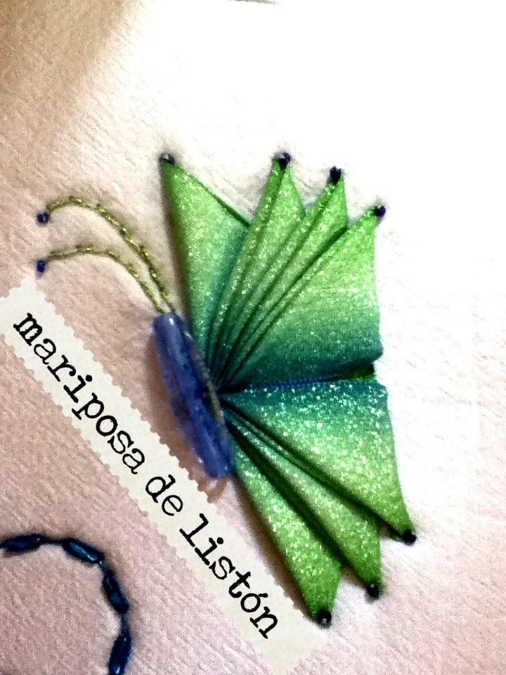 DIY como hacer mariposa de listón para jugos de baño bolsas Butterfly liston