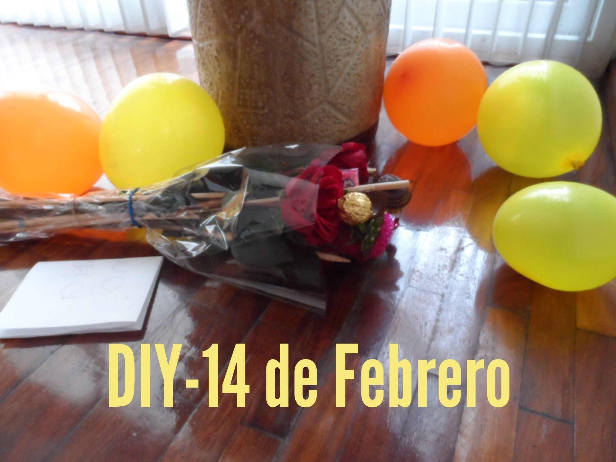 DIY - Regalo del 14 de febrero :)