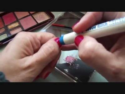DIY.Sello para estampar uñas (de goma eva)♥