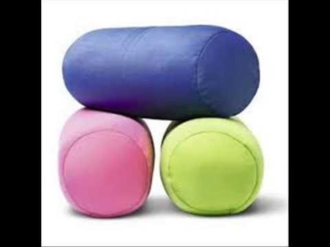 Easy DIY How-to make Anatomical Anti-stress Pillow.Como hacer almohada Antiestres anatomica