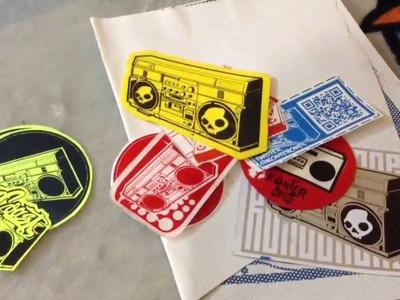 En qué materiales puedo imprimir para hacer stickers y dónde comprarlos