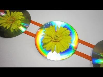 Episodio #564- Cómo hacer una linda decoración con cds reciclados