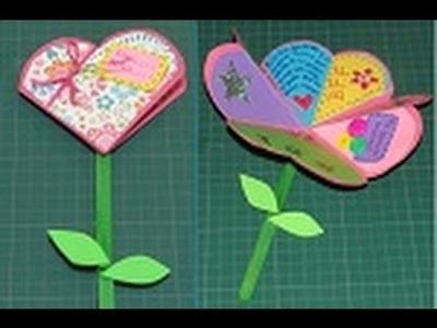 Manualidad para San Valentín: Carta de Corazón a Flor