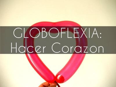 Manualidades Globoflexia - Hacer un corazon con Bolita interior