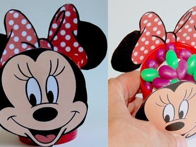 Minnie Mouse para chuches o caramelos. Minnie favor box