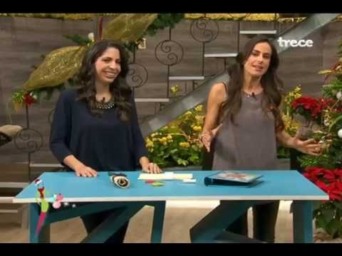 OrganizARTE en Ellas Arriba de TV Azteca - Cómo hacer un estuche para las brochas de tu maquillaje