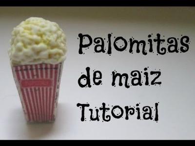 Palomitas de Maiz : Porcelana Fria. Arcilla Polimerica Tutorial