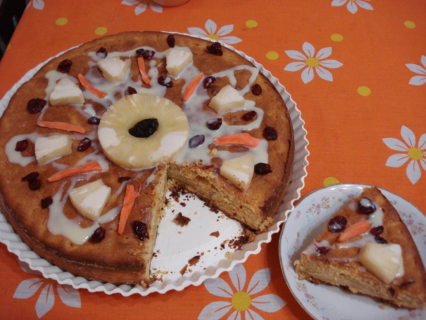 Pan o Pastel de Zanahoria