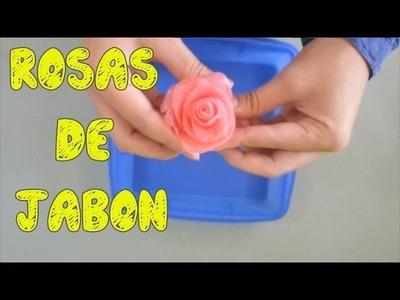 Rosas de jabón de glicerina - Ole Arte Manualidades