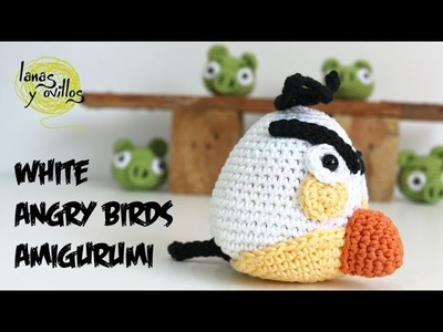 Tutorial Angry Birds Blanco Amigurumi White (english subtiltes)