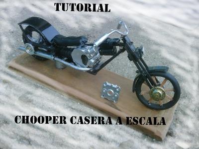 Tutorial: como hacer una moto chooper a ESCALA