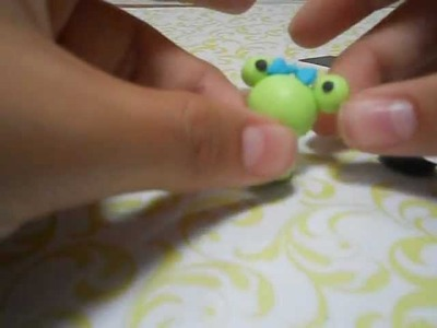 Tutorial de arcilla polimerica: Ranita kawaii ♥