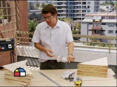 ¿Cómo construir muebles con triangulos ensamblados?