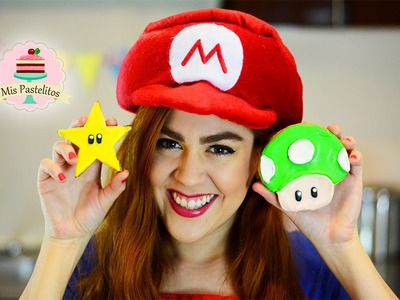 COMO HACER GALLETAS DE SUPER MARIO CON ROYAL ICING | GLASEADO REAL