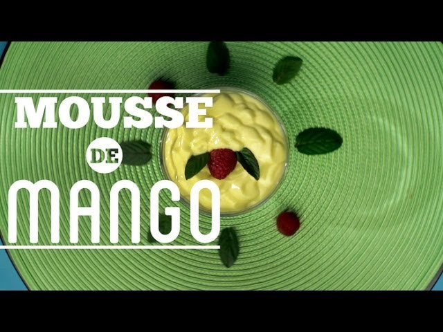 ¿Cómo prepara Mousse de Mango? - Cocina Fresca