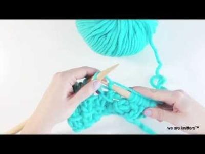 ¿Cómo tejer punto bambú? - Aprender a tejer