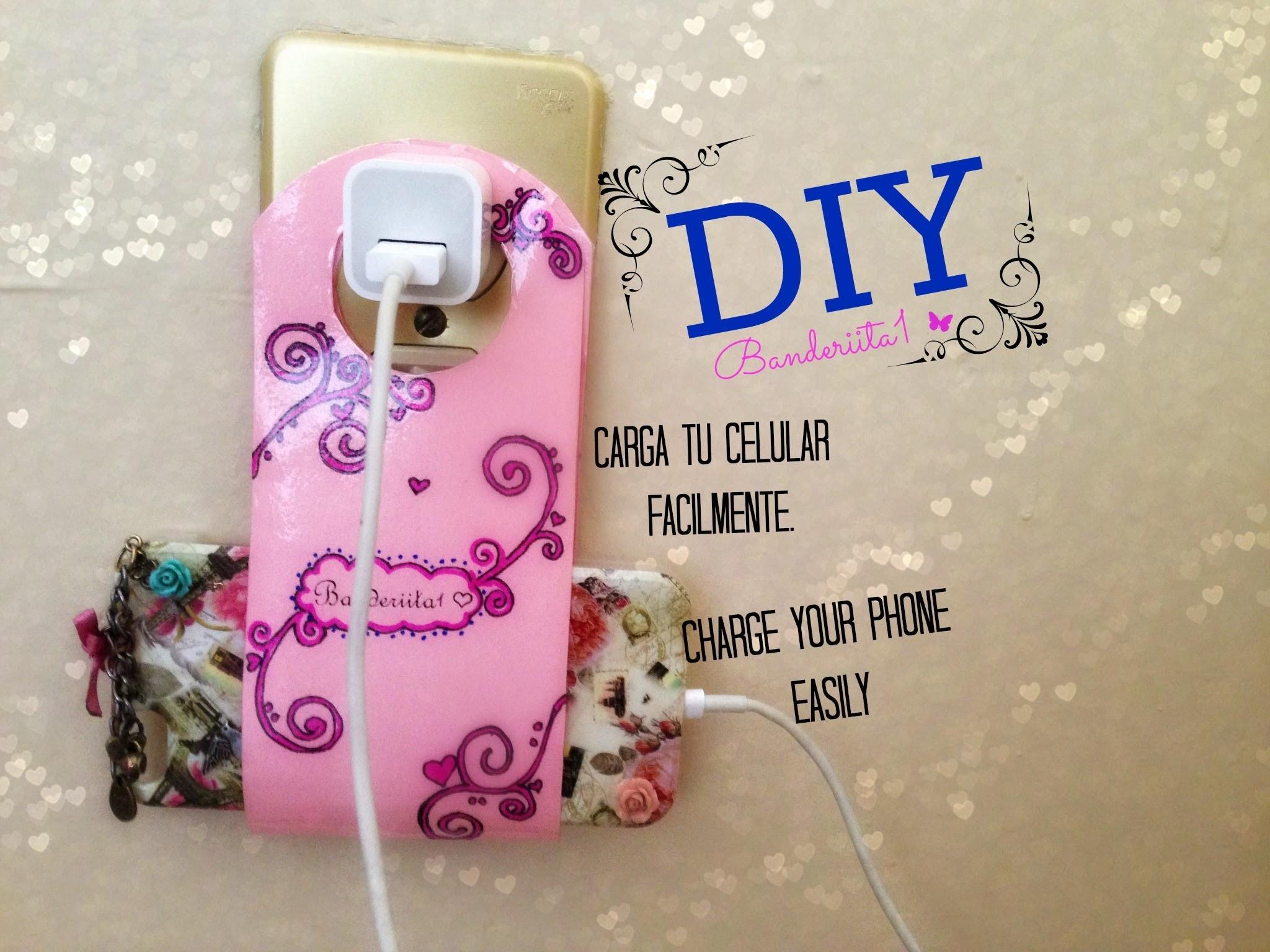 DIY Carga Tu Celular Facilmente. Charge your Phone Easily Tutorial