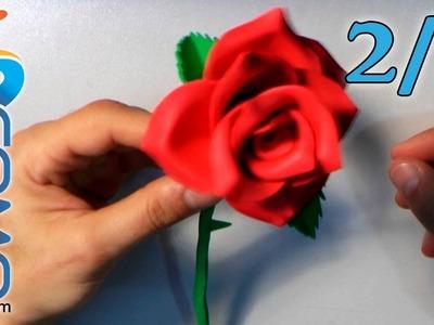 Hacer Rosas de Goma Eva (2.2)