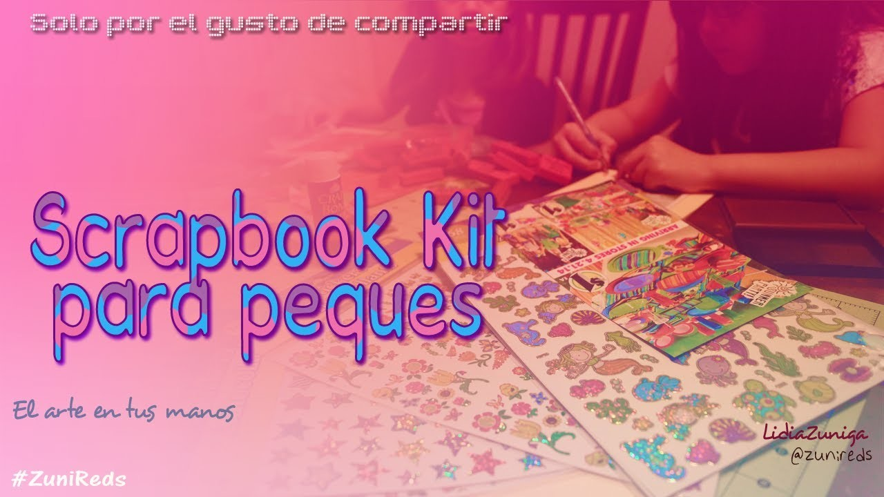 Kit Scrapbook Para Peques ::Ideas::