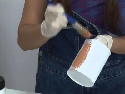 Macetero con latas de La Lechera - Manualidades Nestlé