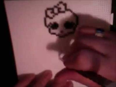 Monster High Calavera Hama Beads mini