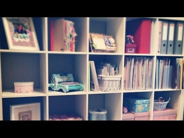 Organización para manualidades y scrapbooking: Cartulinas y cartón