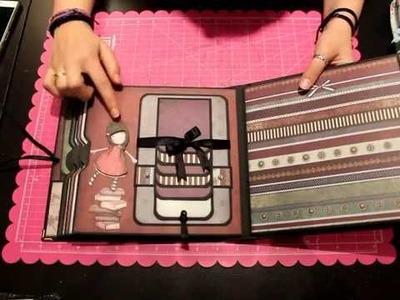 Presentacion Taller Online Album Fairy Light Bellaluna crafts Scrapbooking