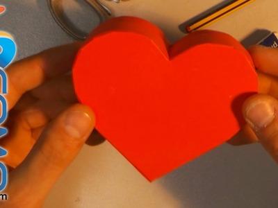 Regalo para San Valentín (Caja en forma de corazón)