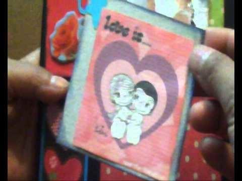 Scrapbook card . San Valentin.wmv