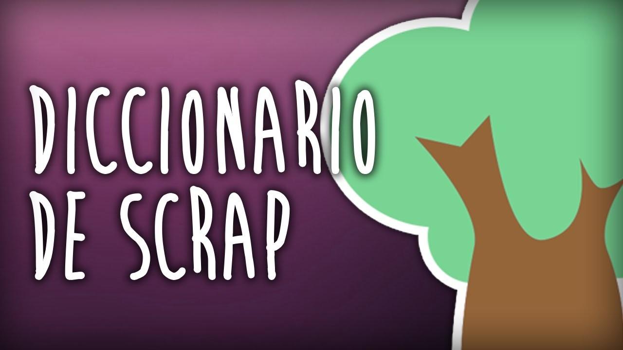 Scrapbook para principiantes 6 : Diccionario de scrapbooking, palabras más utilizadas .