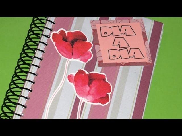 Scrapbooking: Agenda - DIY - Scrapbooking: Diary