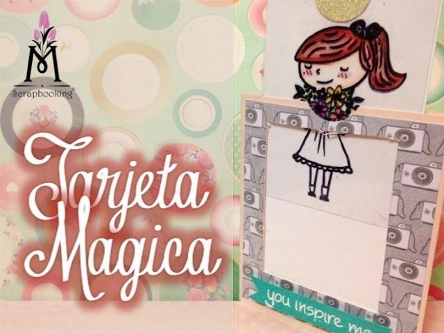 TUTORIAL Tarjeta Mágica de Colores.Magic Color Card Scrapbook