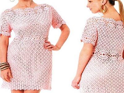 Vestidos De Mujer Tejidos a Crochet o Ganchillo  ( los mejores diseños )