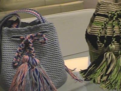 Bandolera estilo wayuu como hacer paso a paso