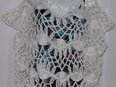 Blusa de verano hecha en Horquilla part 2