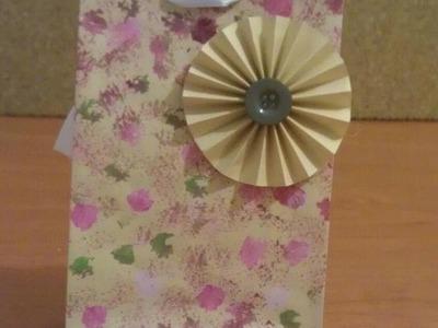Bolsita de papel personalizada. Paper bag for personalization and gifting