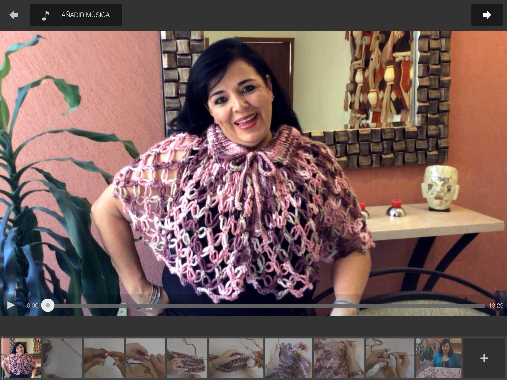 Capita ABI - Regalo ideal para todas las abuelitas - Tejiendo con Laura Cepeda