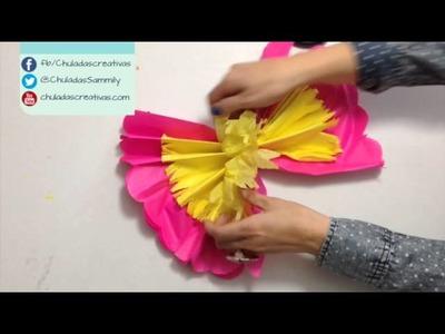 Chuladas Creativas ::Flores Primaverales Parte 2 :: Flores de Papel Manualidades