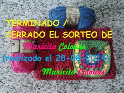 Crochet por Maricita Colours Sorteo para mis Suscriptores! TERMINADO