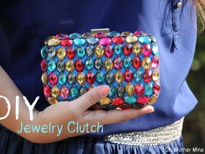 DIY Cómo hacer bolso joya. DIY Jewelry clutch