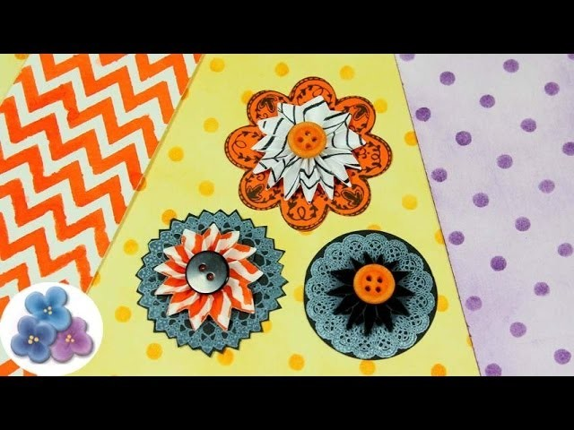 DIY Como Hacer Flores de Papel *How to Make Paper Flowers* Manualidades con Papel Pintura Facil