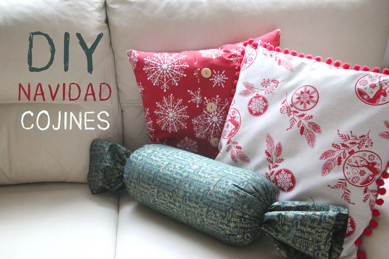 #DIY Navidad: Cómo hacer cojines navideños para decorar tu casa.