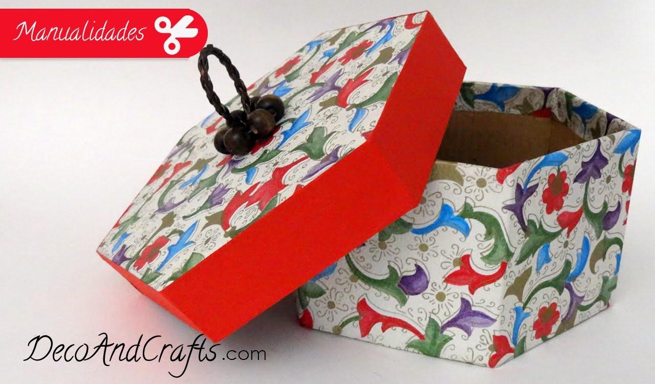 Dulcero Cajita hexagonal - Box