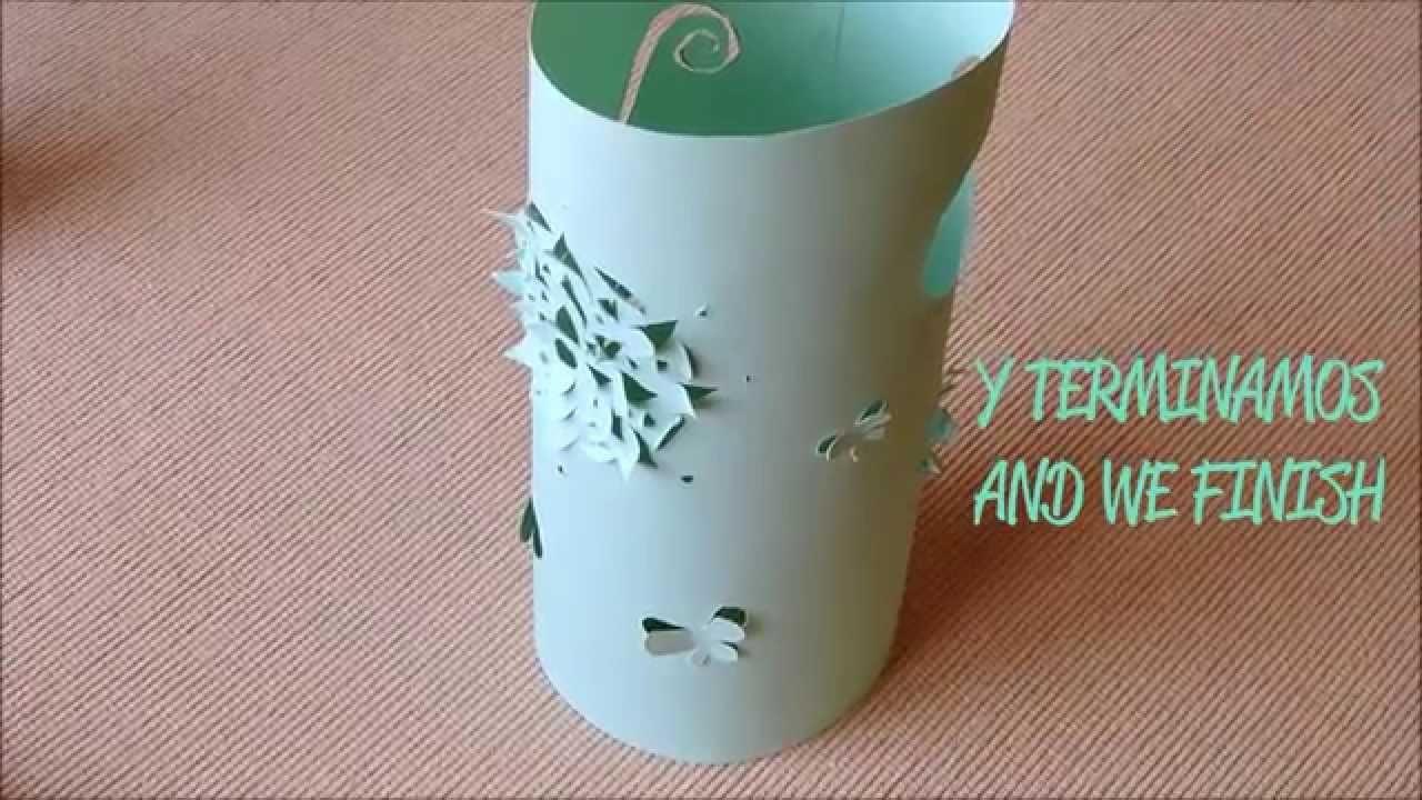 Facilísima lámpara de papel - Super easy paper light