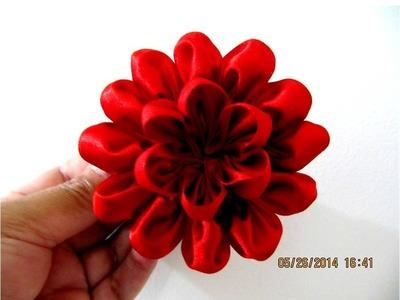 Flores de dieciocho pétalos en cintas de dos piezas - vídeo en HD
