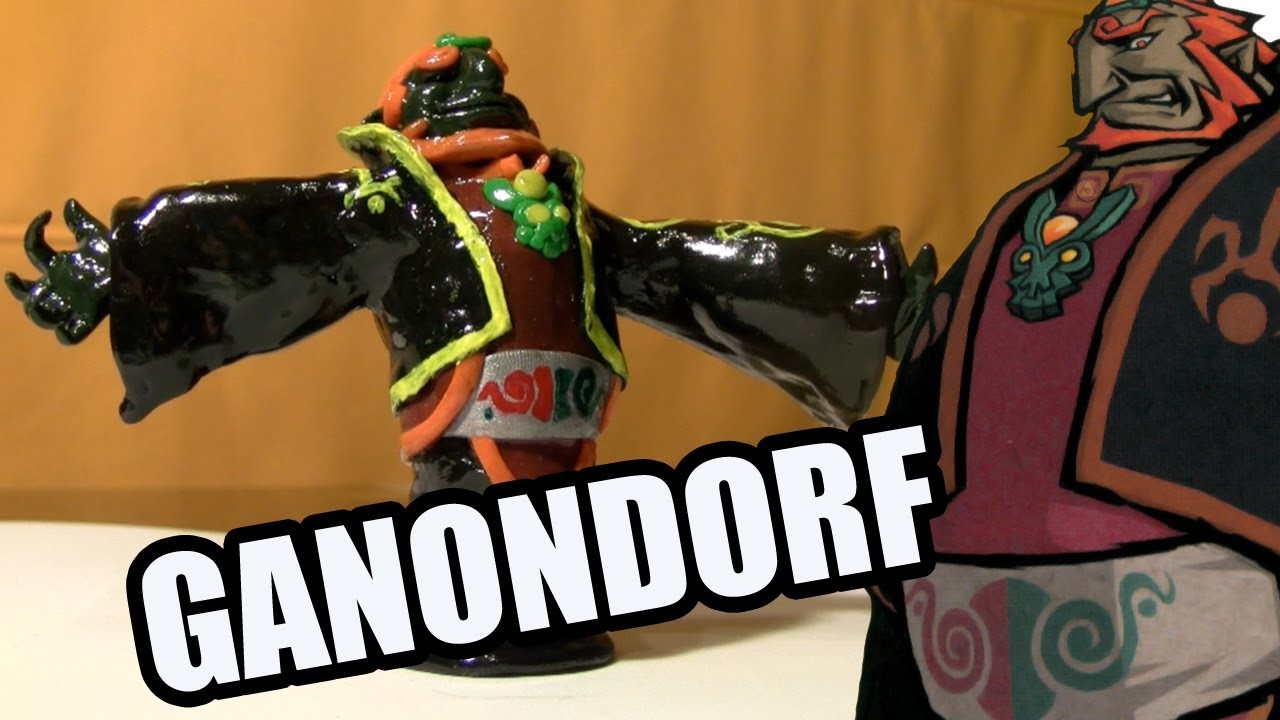 """Ganondorf"", arcilla polimérica | Ganondorf Polymer clay"