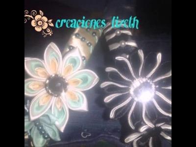Kanzashi colección #2 creacioned lizeth