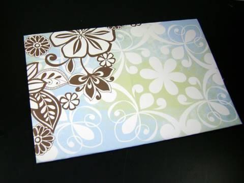 Manualidades de papel: Sobre decorativo facilito