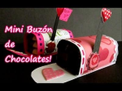 Mini Buzón de chocolates ((PARA SAN VALENTIN))